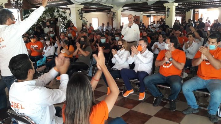 Abel Murrieta, candidato a la alcaldía de Cajeme, se compromete con las mujeres y jóvenes