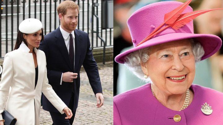 """¿Golpe a la Corona? Meghan Markle """"imita"""" a la Reina Isabel II en pleno concierto"""