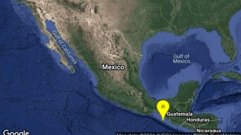 Tiembla en Chiapas: Esta tarde, fuerte sismo de magnitud 4.1 golpea Mapastepec
