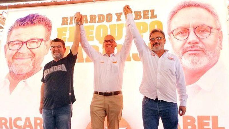 """Ricardo Bours: """"Con Abel Murrieta vamos sin miedo contra la inseguridad en Cajeme"""""""