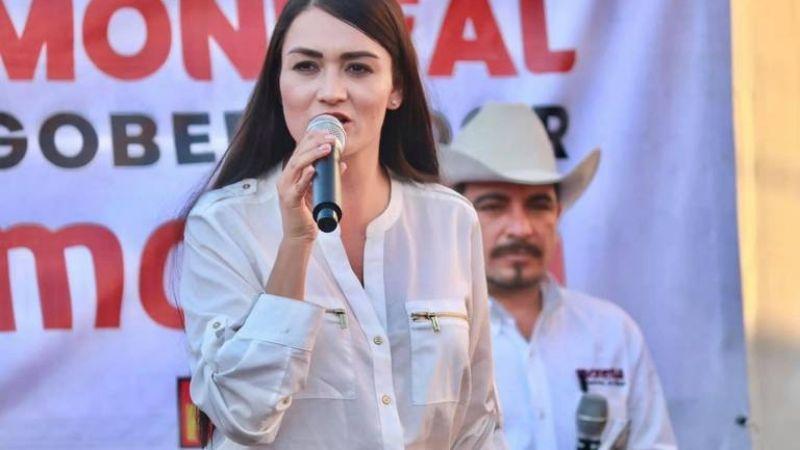 Excolaboradora de Monreal que fue detenida, busca diputación en Zacatecas