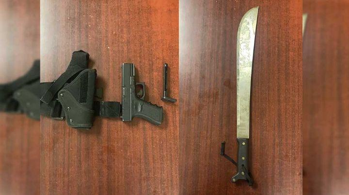 Detienen menores armados en Hermosillo; asaltaban en la colonia Pueblitos