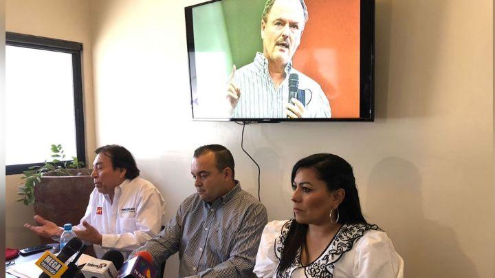 José 'Pepe' Celaya candidato PT a la alcaldía de Hermosillo, pide el voto para Ernesto Gándara