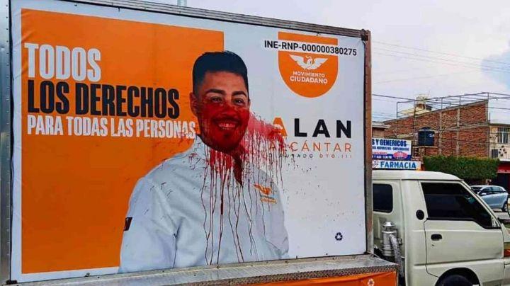 Intimidan a candidato LGBTI+ de MC en Guanajuato y cancela cierre de campaña