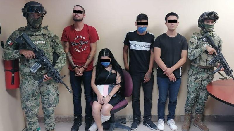 Aprehenden a cuatro jóvenes en posesión de marihuana al oriente de Ciudad Obregón