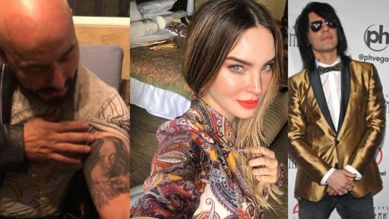 No solo Criss Angel: En 'Sale el Sol' afirman que Lupillo Rivera se borró tatuaje de Belinda