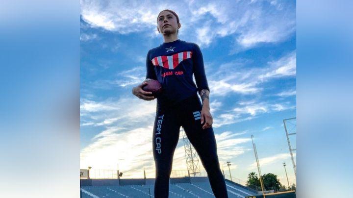 Valery de 'Exatlón' deleita a todo TV Azteca al posar desde el campo con 'outfit' deportivo