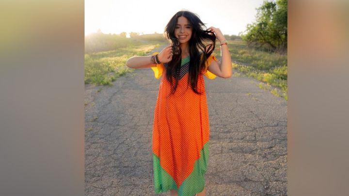 Ángela Aguilar se roba hasta los corazones en Instagram con entallado 'outfit'