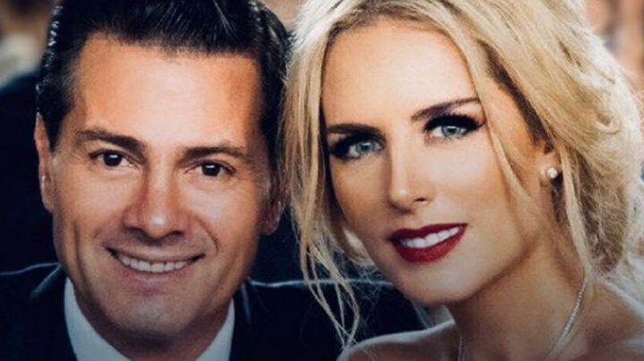 ¿Boda en secreto? Tania Ruiz, novia de Peña Nieto, aparece vestida de blanco en especial ceremonia