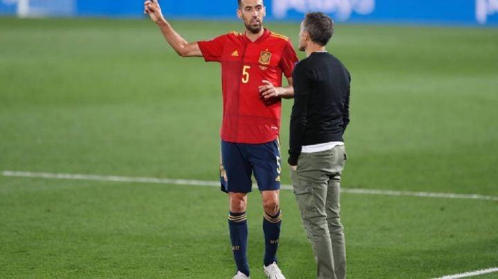 ¿Sergio Busquets se perderá la Eurocopa? Luis Enrique responde tajantemente al tema