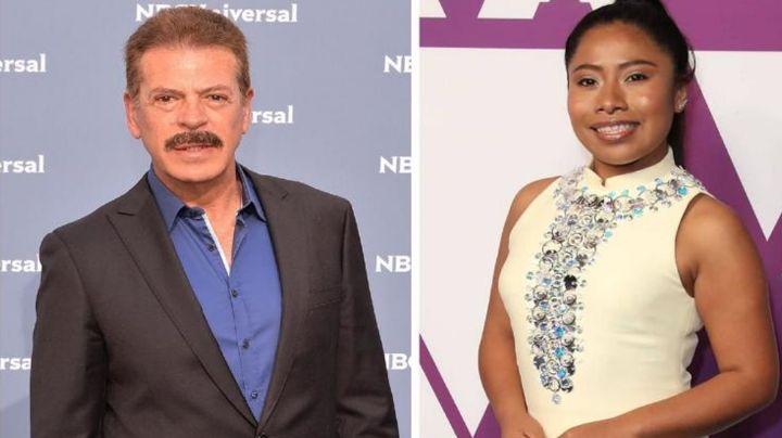 Tras 'veto' de Televisa por insulto a Yalitza Aparicio, Sergio Goyri corre a reportero por nombrarla