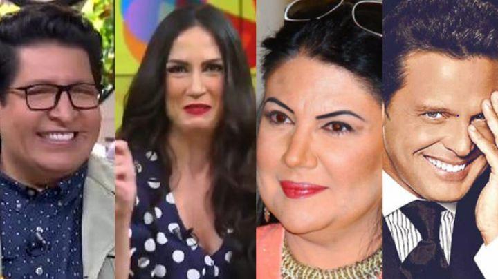 """""""No le interesas"""": 'Sale el Sol' destroza a actriz de Televisa por buscar reencuentro con Luis Miguel"""
