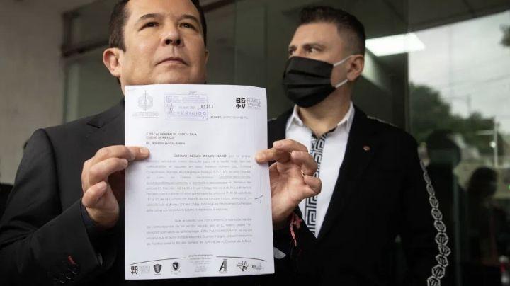 FGE ofrece seguridad a Gustavo Adolfo Infante tras amenazas de Enrique Guzmán