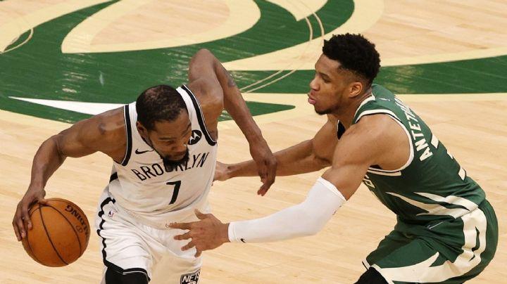 Los Bucks resisten al final y se meten a la pelea con su victoria sobre los Nets