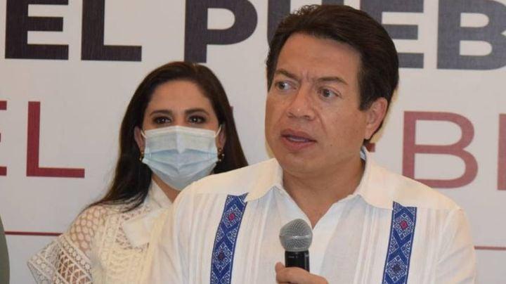 Hermosillo: Mario Delgado, líder de Morena, denuncia fraude electoral contra Célida López