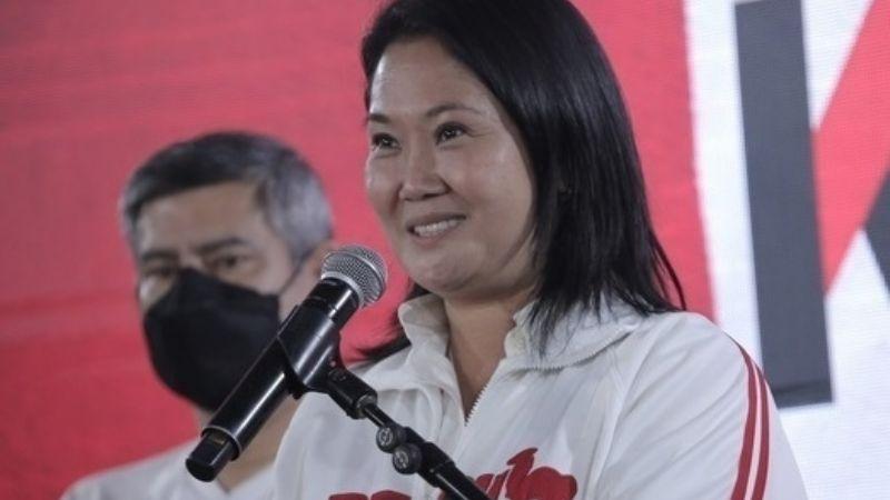 Candidata a la presidencia en Perú podría regresar a prisión preventiva tras violar regla