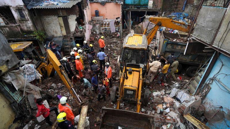 Derrumbe de un edificio en Bombay deja un saldo de 11 muertos y 17 heridos