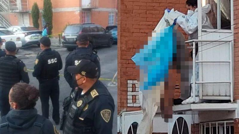 FUERTE VIDEO: Oswaldo mata de 6 tiros a su novia y a su hijastra de 12 años; se suicida en balcón