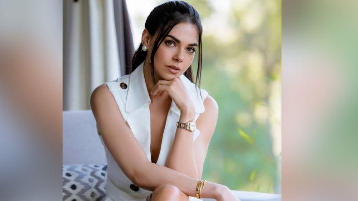 Livia Brito pone a babear a Televisa al posar desde la piscina en irresistible outfit' blanco