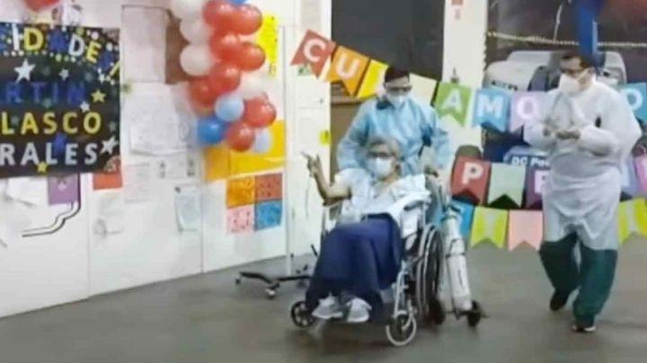 Él es Martín, el último paciente atendido en el centro Covid-19 Citibanamex; ¿acabó la pandemia?
