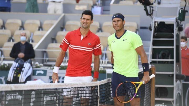 Djokovic y Nadal 'nole' fallan al público de Roland Garros; el serbio se impone al español