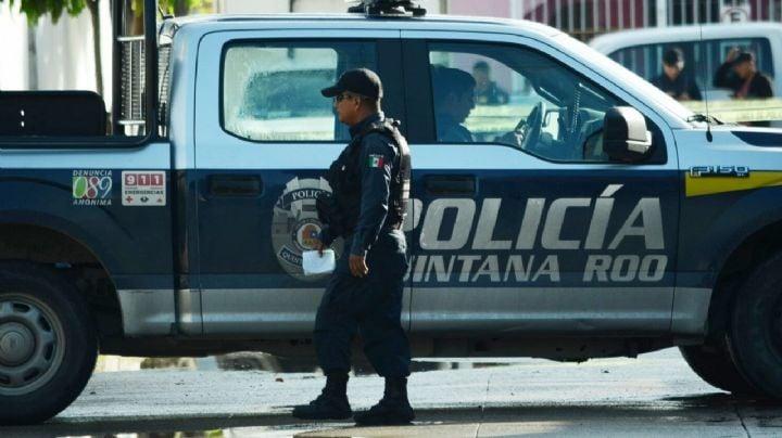 2 muertos y un herido fue el saldo de una balacera en una playa de Cancún