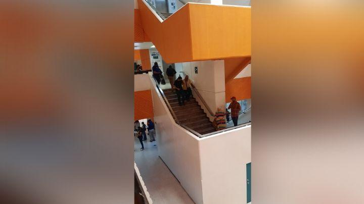 Falla de elevador de la UMF 1 en Ciudad Obregón causa molestias en los derechohabientes
