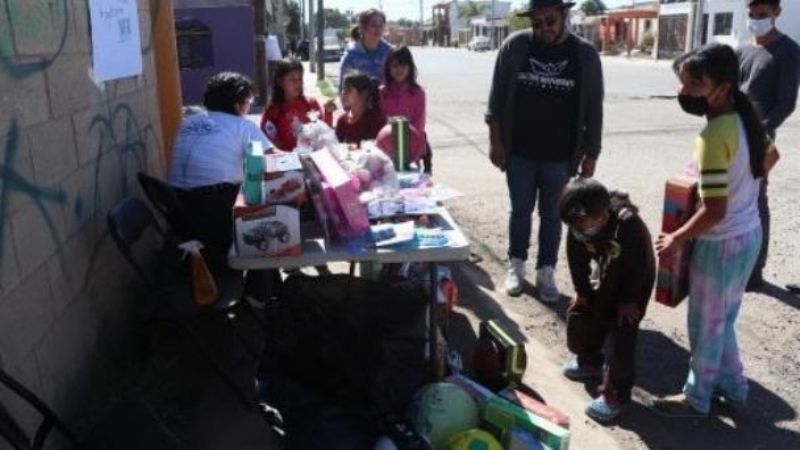 Colectivo de Cajeme busca 'desarmar' a la infancia para crear conciencia