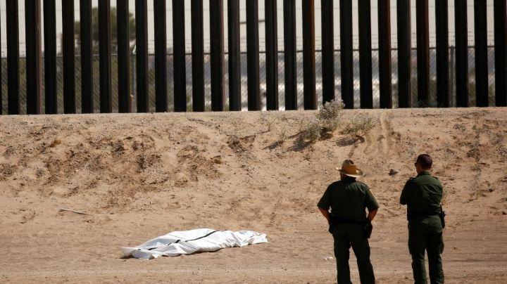 Tragedia en la frontera: Muere migrante al caer del muro que divide Texas y Ciudad Juárez