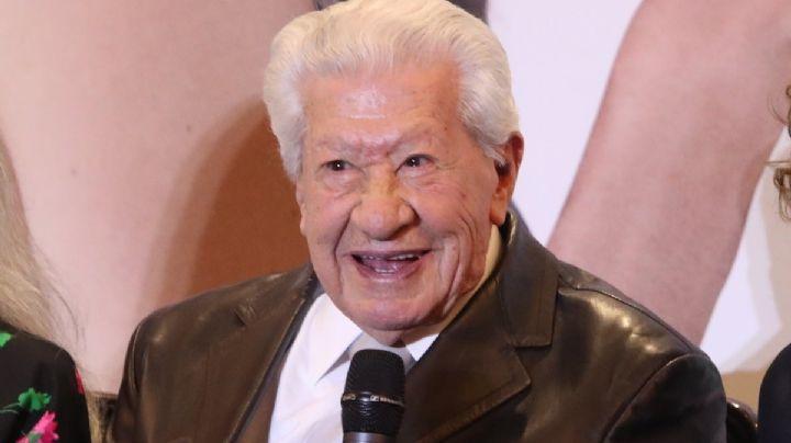 ¡Comprometido con el arte! A sus 96 años, Ignacio López Tarso prepara gira teatral