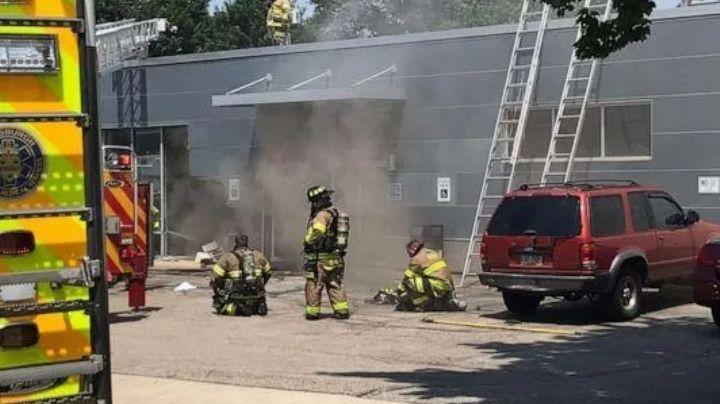 Choque contra centro de donación de plasma deja un incendio y 3 muertos en Pittsburgh