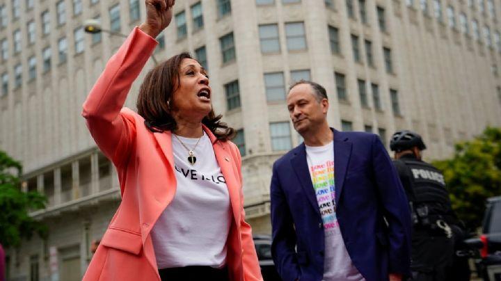IMÁGENES: Kamala Harris participa en marcha por el orgullo LGBT+ en Washington