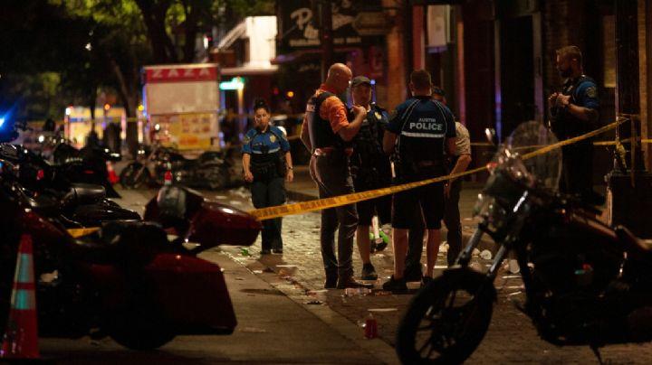 Tiroteo en Austin que dejó 14 heridos comenzó como una disputa entre dos sujetos armados