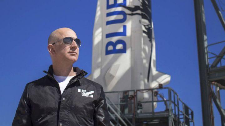 Subastan boleto para viajar con Jeff Bezos y su hermano al espacio en 28mdd