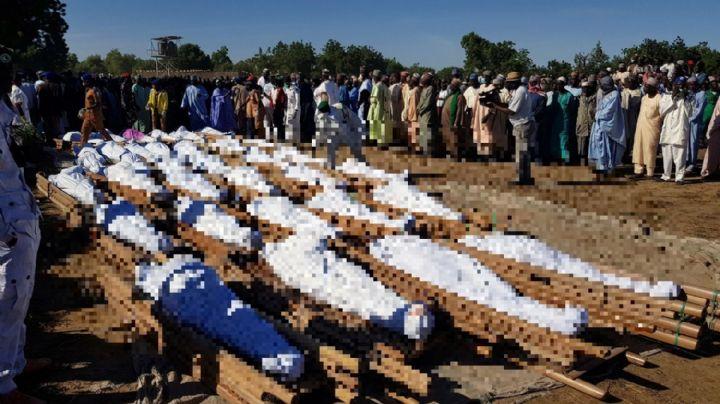 Sadismo total: Hombres armados realizan una masacre al asesinar a 53 personas