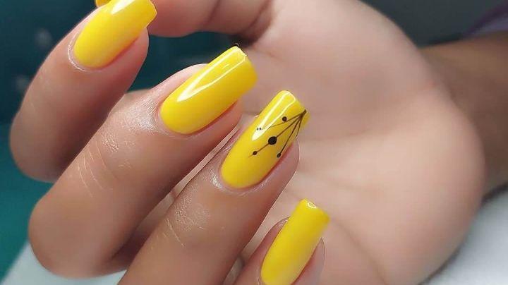 Brillarán como el sol: Descubre algunos fantásticos diseños de uñas color amarillo