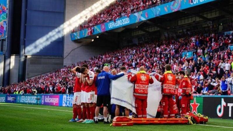 VIDEO: ¡De terror! El danés Christian Eriksen se desploma en partido de la Eurocopa 2020