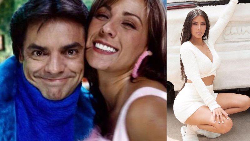 Eugenio Derbez y Consuelo Duval reaccionan a las fotos de Kim Kardashian vestida de peluche