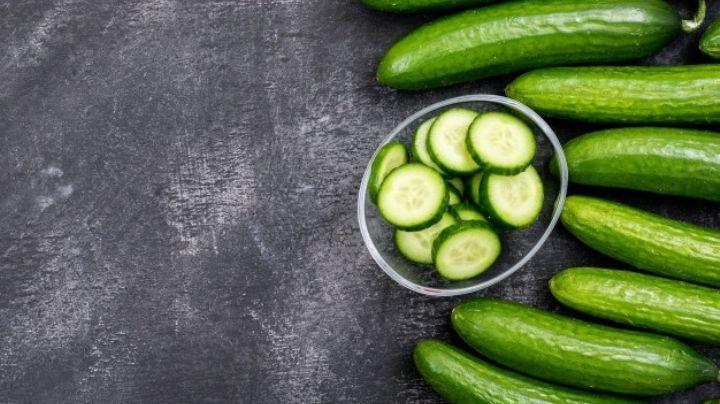 Estas son algunas razones por las que debes comer pepino todos los días
