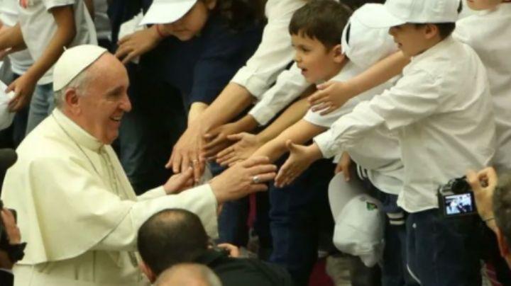 El papa Francisco aboga por el cuidado de los niños; exige erradicar el trabajo infantil
