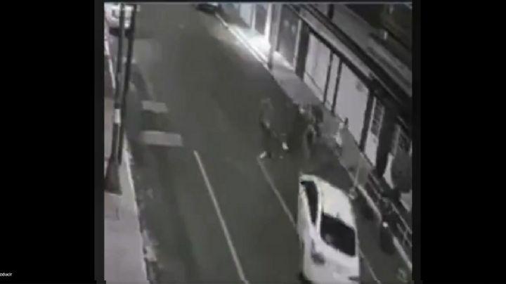 FUERTE VIDEO: Completamente ebrio, Diego atropella a 2 mujeres; las deja tiradas y huye