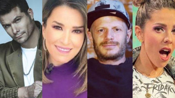 Lo quieren correr: Laura G, Brandon Peniche y Regina, furiosos con Facundo tras 'veto' de TV Azteca