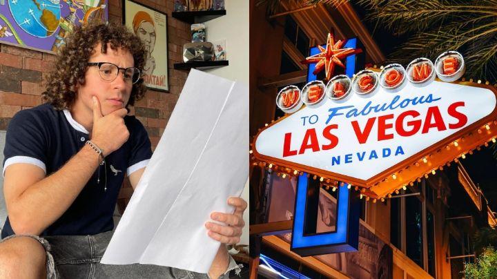 ¡De no creerse! Luisito Comunica revela secreto perturbador de Las Vegas