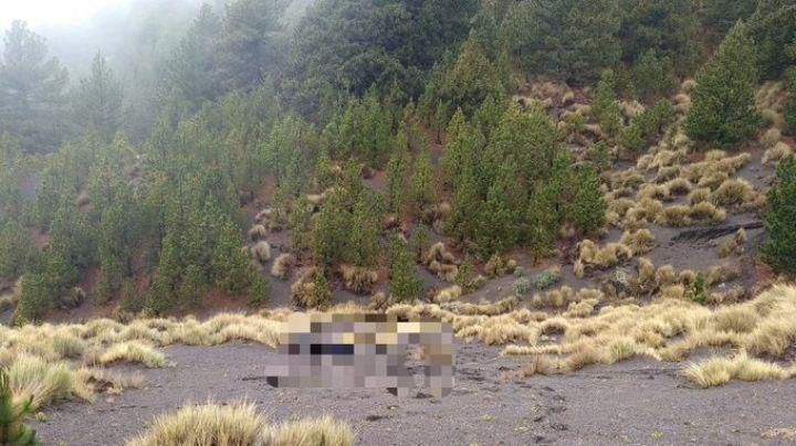 ¡Tragedia! Ciclista desaparece en el Nevado de Colima; habría muerto de hipotermia o de una caída