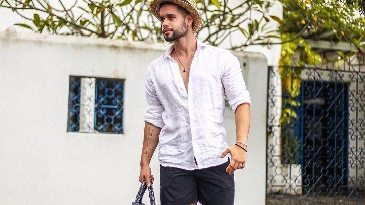 ¡Atractivo y varonil! Conoce las próximas tendencias en 'outfit' masculino del verano 2021