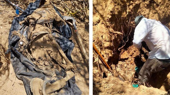 Descubren cadáver esquelético sepultado en Nogales; se trataría de un hombre joven