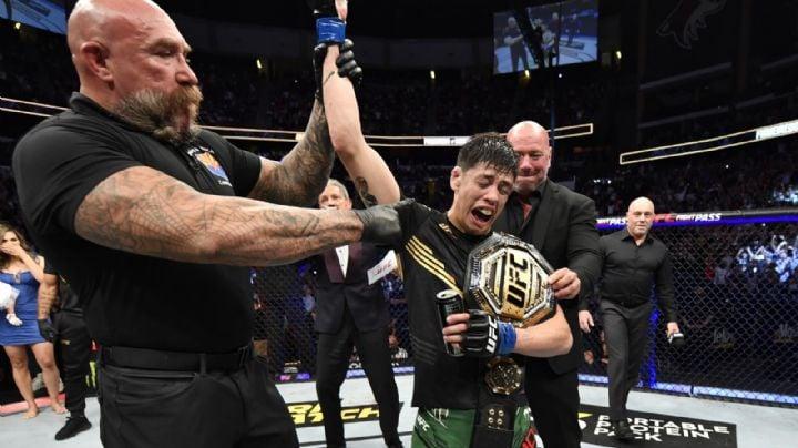 México tiene su primer campeón en UFC; Brandon Moreno le arrebata el título a Deiveson Figueiredo