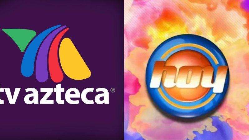 ¿Televisa lo vetó? Conductor de 'Hoy' aparece en TV Azteca y da impactante noticia