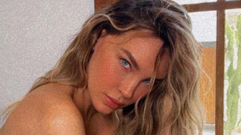 Belinda enciende el domingo con tremendas FOTOS en pijama en Instagram; así reacciona Nodal