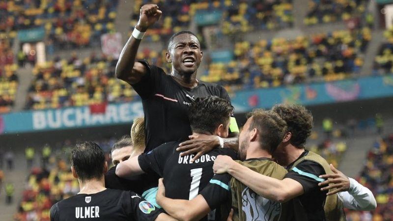 Austria vence a Macedonia y consigue su primer victoria en la historia de la Eurocopa